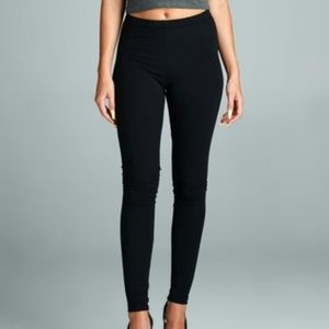 PLUS NEW Black Brushed Knit Leggings !